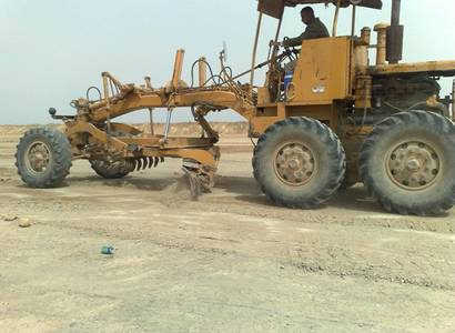 Construction of road and pavement by asphalt between Al-Zwyia and Alnamel Roads