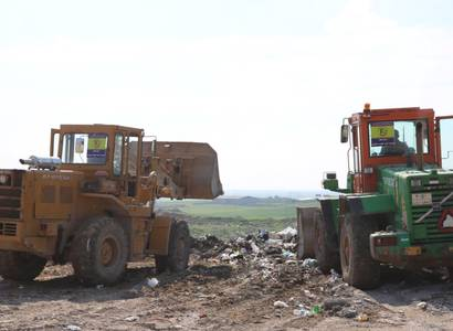 Removal of Rubble and Debris in (Villages in Hamdanya )